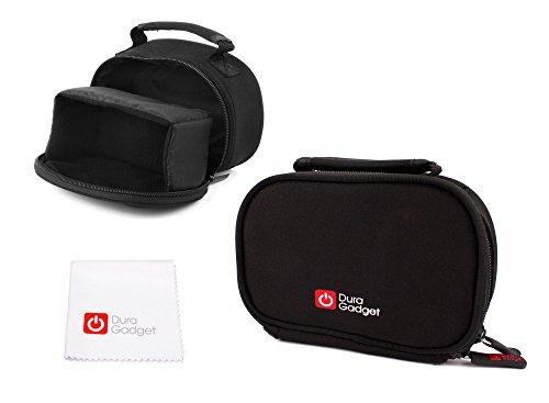 Ovale Transport Tasche und Tuch für Rollei Actioncam 550 Touch   372   630   625   610   530   525   510   426   416   420   410   400   300, Sportsline 80 und Add Eye Cam Action Kameras