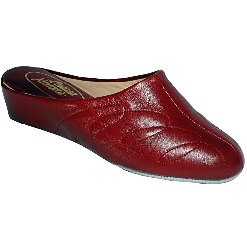 Cincasa Menorca Mahon Ladies Slipper Red Size 36