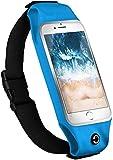 moex Multifunktionale Sporthülle für Sony Xperia Z3 Compact | Ideal für Sport - Wasserabweisend mit Kopfhöreröffnung + 2-teiliger Innentasche, Türkis