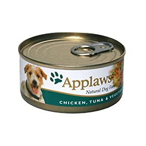 Applaws Dog Food Chicken, Tuna & Vegetable 24 x 156g 3744g by Applaws