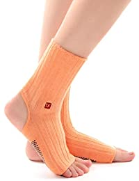 HappyTime Calcetines de la Yoga, convenientes para la Aptitud de la Danza del Pilates del