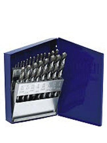 Irwin Industrial Tools Fraktionierte gerade Shank Länge Metall Bohrer, Index-Bohrer Bit-Set, 63221
