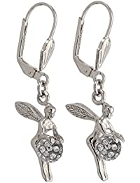 Boucles d'oreilles pendantes - Argent 925 - Oxyde de Zirconium - 1900993RH G