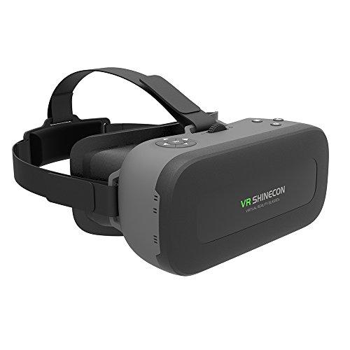 Docooler A101 All In One VR Maschine Virtual Reality Headset 3D Brille 1080P 5.5 Zoll 108 ° FOV Unterstützt 60Hz FPS 2D / 3D / Panorama Fesselnde WiFi Bluetooth mit USB Anschluss TF-Karten-Slot