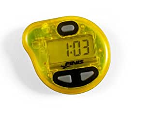 FINIS Erweiterte Akustische Metronom zum Schwimmen Tempo Trainer Pro, Yellow, 616323201903