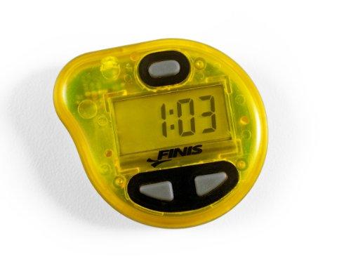 FINIS Erweiterte Akustische Metronom zum Schwimmen Tempo Trainer Pro Yellow, One Size