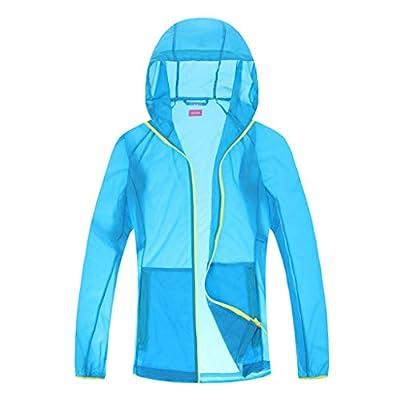 Yvelands Damen Männer Winddichte Jacke Outdoor Fahrrad Sport Quick Dry Windbreaker Coat Top Sonnenschutzkleidung