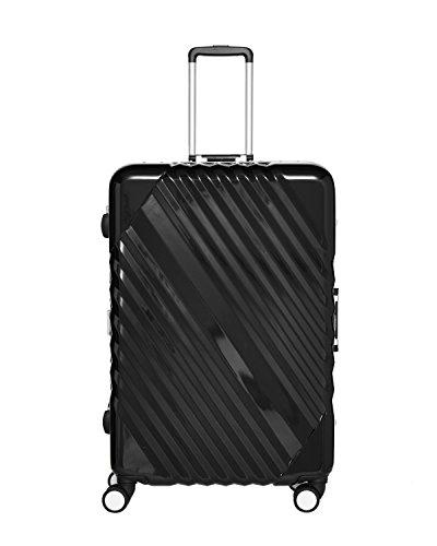 Packenger Skystar Hartschale XL Koffer, Schwarz