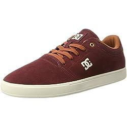 Pisahuevos DC Shoes Crisis, Zapatillas para Hombre, Rojo (Burgundy/Tan), 42 EU