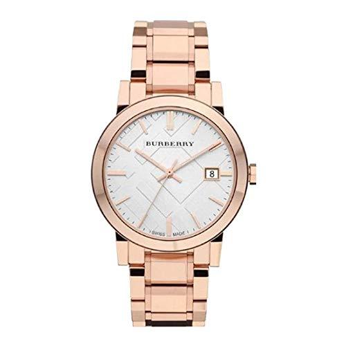 Burberry Damen-Armbanduhr BU9204, Armband aus Edelstahl Farbe Gold