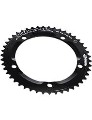 Miche PLPI14452-Plato para bicicleta 144 mm, color negro