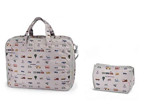 My Bag's Set 2 Piezas Maleta Maternidad Neceser Estampado
