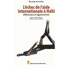 L`echec de l`aide internationale a Haiti: Dilemmes et egarements
