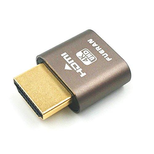 HDMI dummy plug,Headless Ghost, Display Emulator (Fit Headless-1920x1080 New generation@60Hz)…