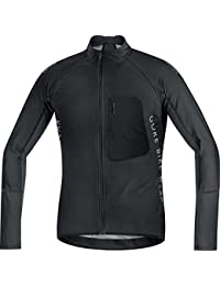 GORE BIKE WEAR- Hombre- Maillot de ciclismo- ALP-X PRO WINDSTOPPER Soft Shell Zip-Off