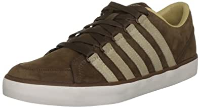 K-Swiss Men's Gowmet Vnz Leather Bison/Desert/Straw Fashion Trainer 02816-294-M 7 UK