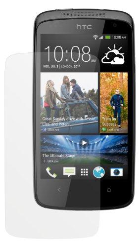 dipos I 2X Schutzfolie matt passend für HTC Desire 500 Folie Bildschirmschutzfolie