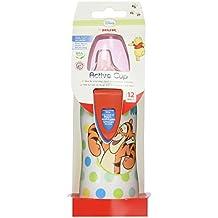 Nuk - 10255081 - Botella Active Cup Winnie the Pooh Silicona Nuk 300 ml 12m+