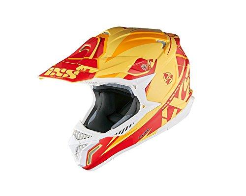 Motocrosshelm IXS HX 179 FLASH gelb-orange-rot Gr.XS