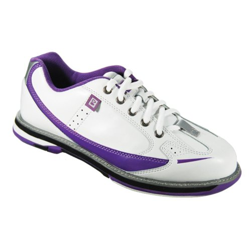 Brunswick Damen Bowling-Schuhe Curve Weiß weiß US 6.5, UK 4