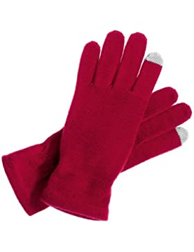 Intellig_23012-178-Knitted_450 rot Damenhandschuh v. Roeckl