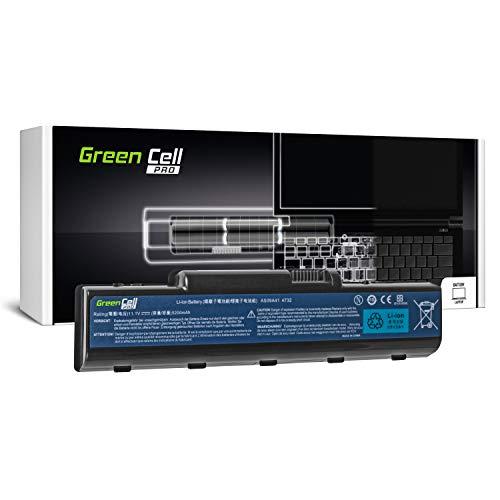 GC® PRO Serie Laptop Akku für Packard Bell EasyNote TJ65 TJ65-AU-001 TJ65-AU-001PL TJ65-AU-001UEA (Samsung SDI Zellen 5200mAh 11.1V Schwarz)