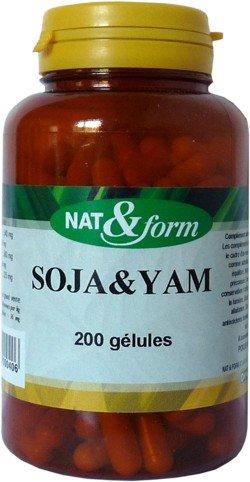 Nat Form soja yam 200 gelules
