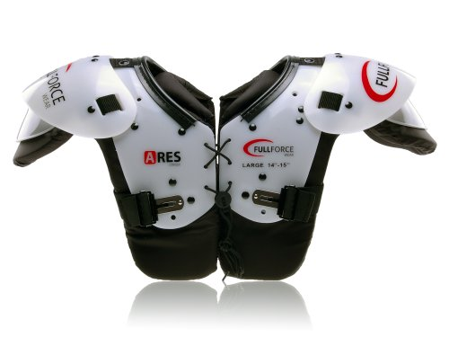 Full Force Wear American Football Ares Youth Speed Position QB/WR/Skill Shoulderpad, Gr. XL