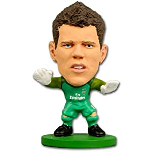 Soccerstarz - Figura con cabeza móvil (Creative Toys Company 73306) Importado de Inglaterra