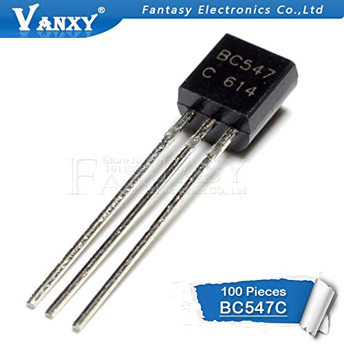 100pcs BC547B TO-92 NPN Transistor
