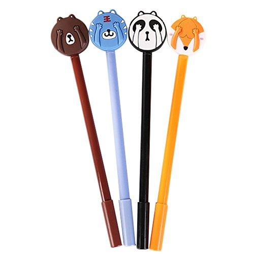 fablcrew-Stift Gel Tinte schwarz Gel Stift kreative Mignon Kleintiere Augen Haarband Stift Gel für...