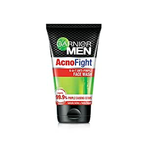 Garnier Men Acno Fight Anti-Pimple Facewash, 100gm