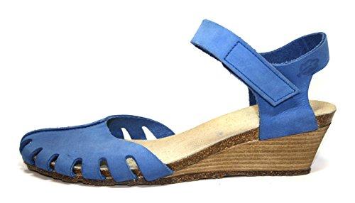Loints of Holland 16433 Damen Sandalen (ohne Karton) Blau (blau 152)