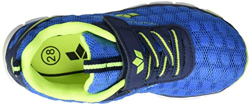 Lico Flow VS Mädchen Sneakers Blau (MARINE/LEMON)