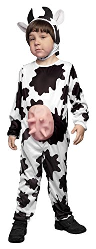 Euter Kuh Kostüm - STARLIT42 Kostüm Kuh mit Euter T.10-12Jahre 69026