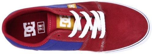 DC Shoes Tonik M, Chaussures de skate homme Rouge (Red/Blue)