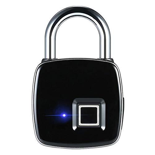 C-Xka Intelligentes Fingerabdruck-Vorhängeschloß biometrisches, wasserdichtes Schloss mit Fingerabdrucksicherheits-Touch-schlüsselloses Schloss USB-Gebühr & 1 Jahre Bereitschaftszeit für Turnhallensch
