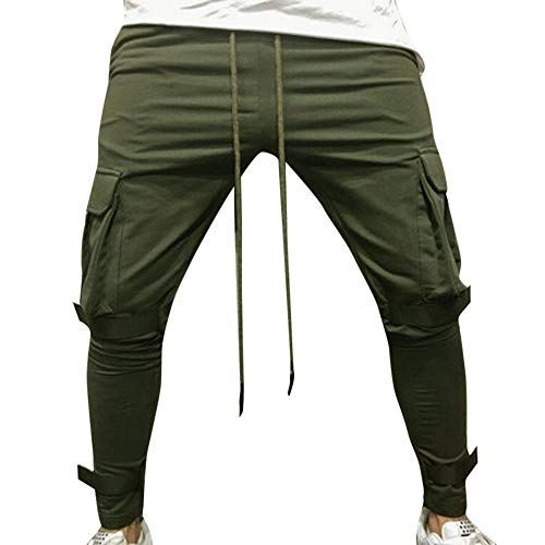 Liuchehd-nuovo 2018 pantaloni sportivi uomo pantaloni della tuta elastici sports pants jogging leggings trousers sweatpants pantaloni allenamento