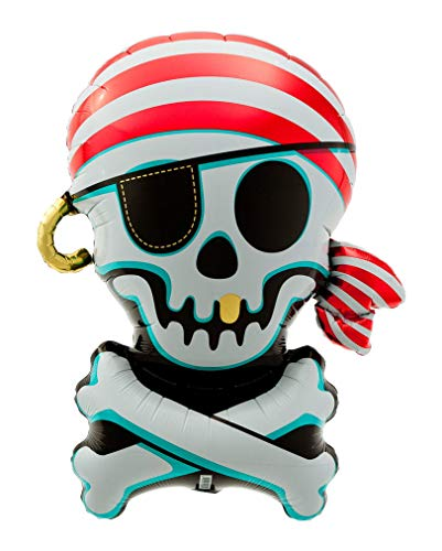 Horror-Shop Piraten Folienballon -