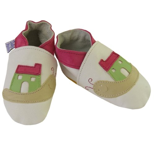 Daisy Roots Lumaca con la sua House Baby scarpe in pelle morbida (dimensioni da 0a 6mesi)