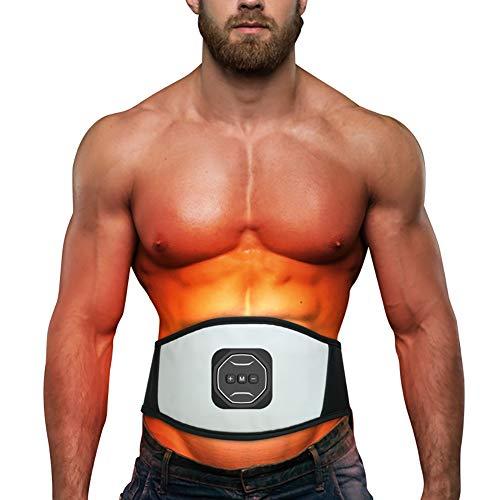 SCARVT Muskelstimulation Elektrostimulation EMS Trainingsgerät Muskelstimulator Bauch Massagegerät Muskelaufbau und Fettverbrennungn Home Fitness Machine