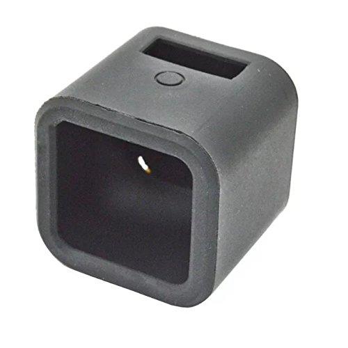 Goliton Morbida gomma di silicone della copertura della cassa della protezione della pelle per GoPro Eroe 4 Sessione Camera-nero