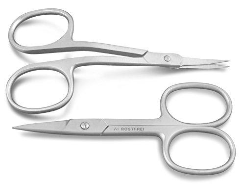 Ergonomisches Nagelscheren-Set Nagel-Hautschere Fußnagelschere Edelstahl