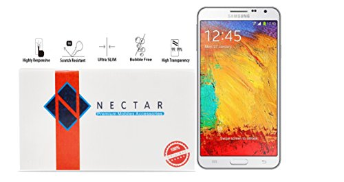 Shock Resistant Premium Tempered Glass For Samsung Galaxy Note 3 Neo By Nectar