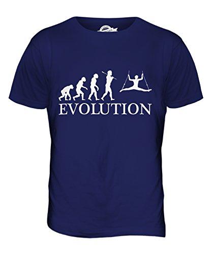 CandyMix Zirkus Zirkusartist Evolution Des Menschen Herren T Shirt Navy Blau