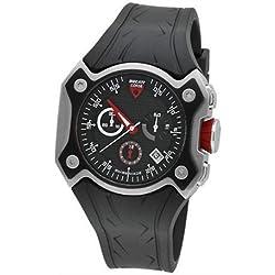 Ducati Corse CW0013 Gents Chronograph Black Rubber Strap Watch