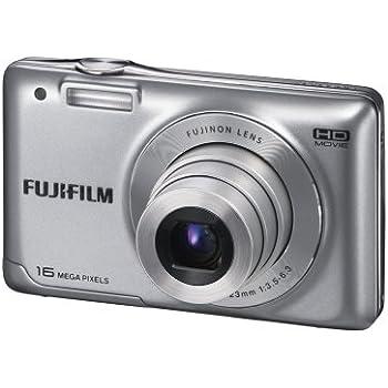 "Fujifilm FinePix JX550 - Cámara compacta de 14 Mp (pantalla de 2.7"", zoom óptico 5x, estabilizador de imagen), color plata"
