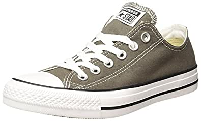 Converse Unisex's Charcoal Sneakers - 3 UK/India (35 EU) (150765C)
