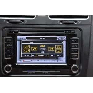 HYPE HSB8518GPS Autoradio 2 DIN GPS 165cm DVD DivX USB SD iPod pour VOLKSWAGEN VW GOLF 6 PASSAT CC TIGUAN SCIROCCO 2010