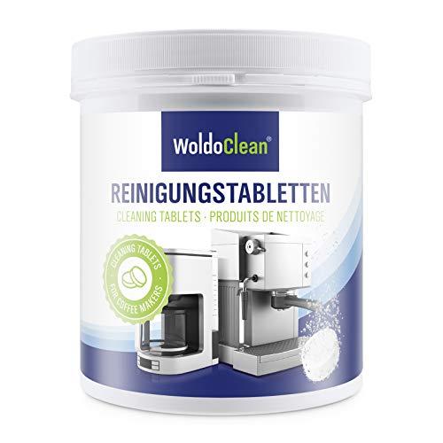 Pastilles de nettoyage pour machine à café - compatible avec Jura Delonghi Siemens Bosch Krups Melitta 260x tablette à 2 grammes